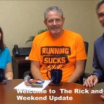 Kathleen, Rick and John return to the airwaves